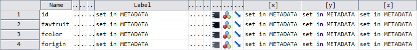 Variable View of 4th MATCH FILES