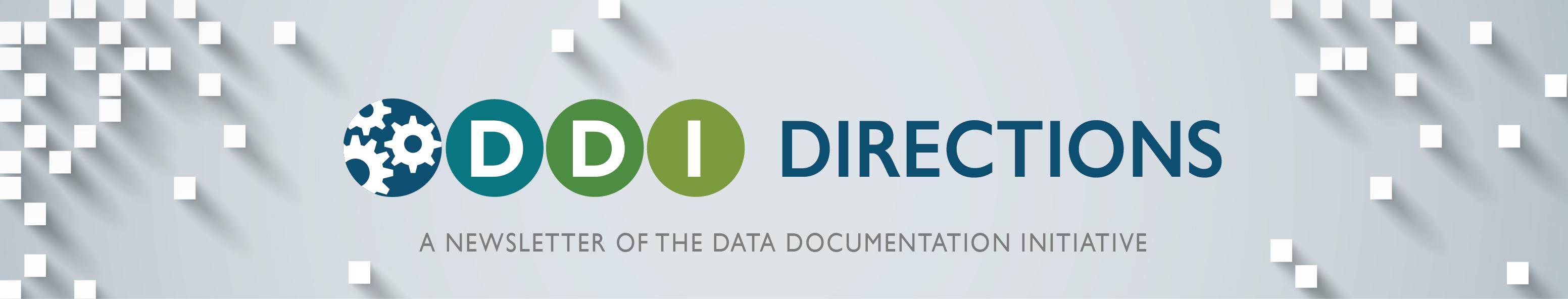 DDI DIRECTIONS: Logo of the DDI Alliance's Newsletter